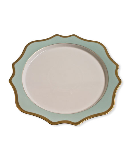 Anna Weatherley Charger Plate, Green