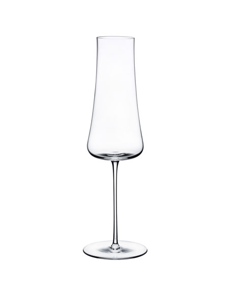 NUDE Stem Zero Stemware Ion Shielding Champagne Glass