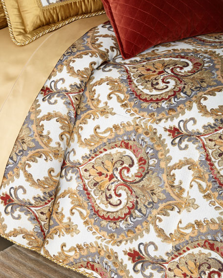 Austin Horn Collection Ainsley 3-Piece King Comforter Set