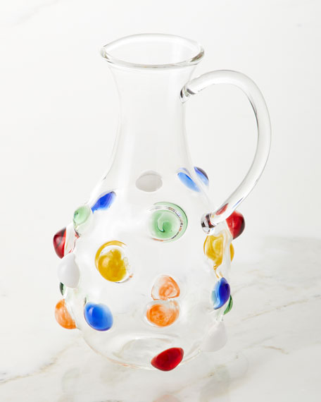 Massimo Lunardon Multicolor Bubble Carafe