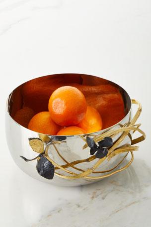 Michael Aram Black Iris Large Bowl