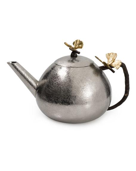 Michael Aram Butterfly Ginkgo Round Teapot