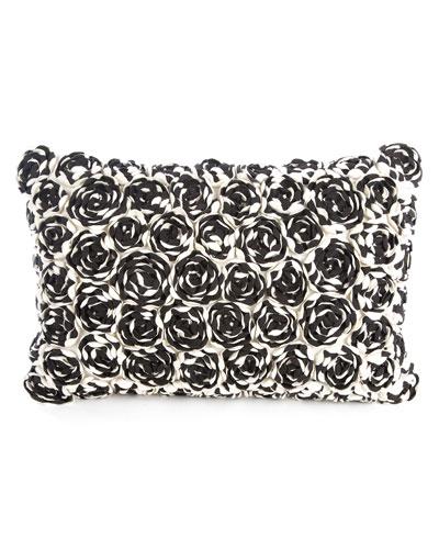 Fellini Rosa Lumbar Pillow