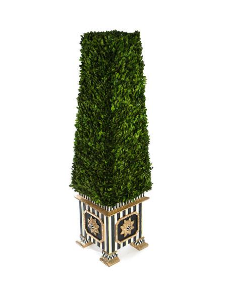 MacKenzie-Childs Extra Large Boxwood Obelisk