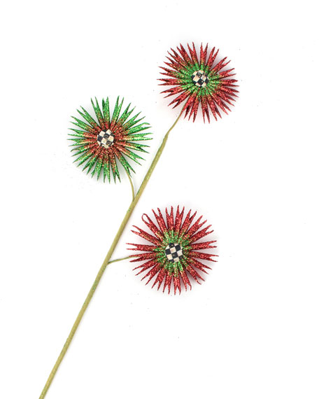 MacKenzie-Childs Pleated Flower Pick