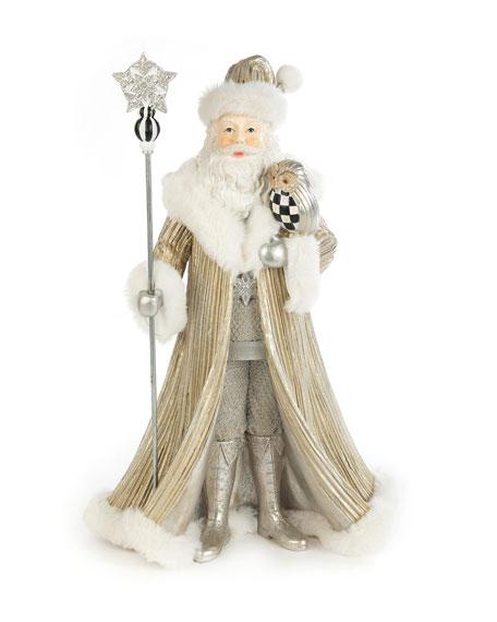 MacKenzie-Childs Winter White Santa