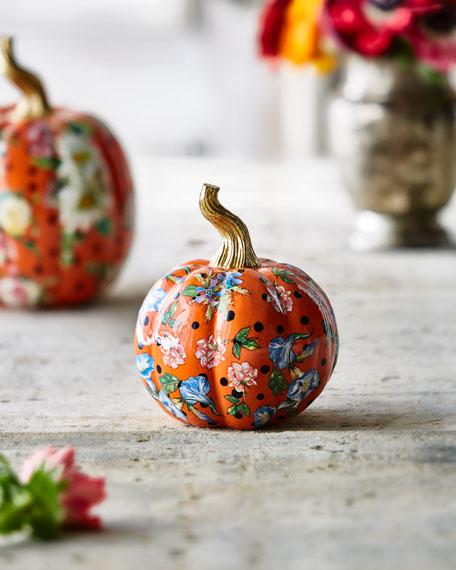 MacKenzie-Childs Flower Market Mini Pumpkin