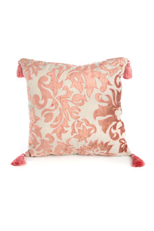 MacKenzie-Childs Foscari Square Pillow