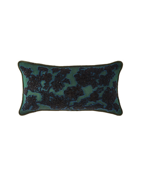 MacKenzie-Childs Lillith Lace Lumbar Pillow