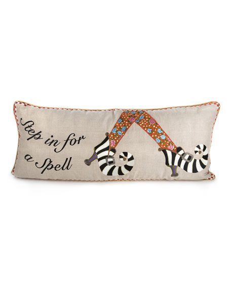 MacKenzie-Childs Step In For A Spell Pillow