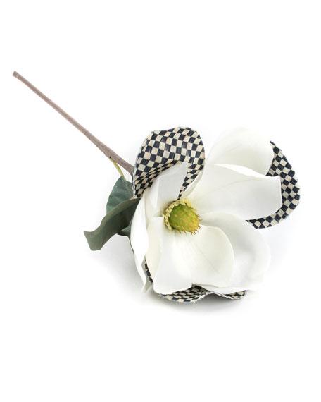 MacKenzie-Childs Courtly Check White Magnolia Pick