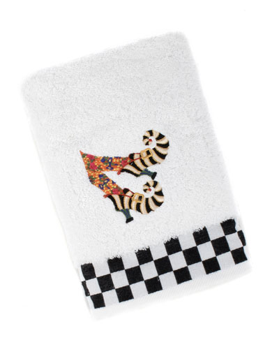 Witches Shoes Hand Towel