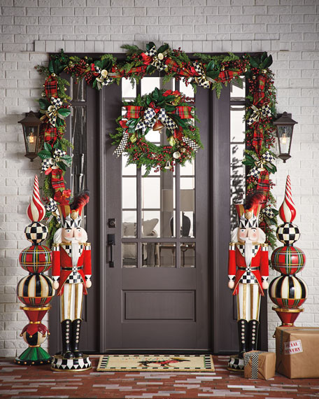 MacKenzie-Childs Deck The Halls Wreath
