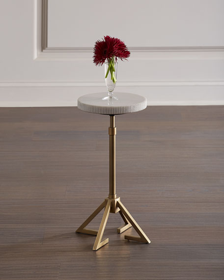 Marcy Adjustable Height Accent Table