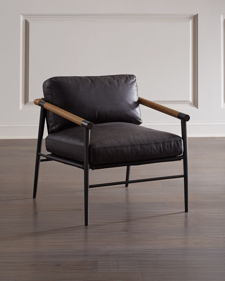 Rayna Leather Accent Chair