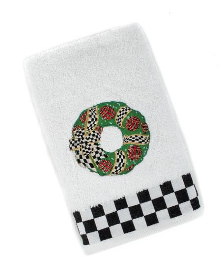 MacKenzie-Childs Wreath Hand Towel