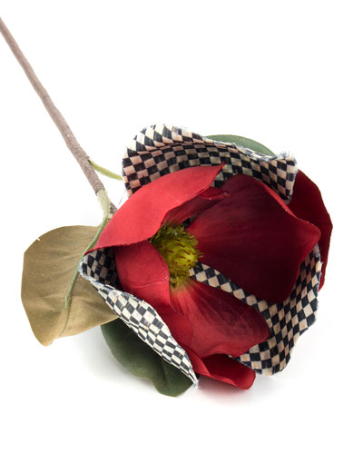 Courtly Check Red Magnolia Pick