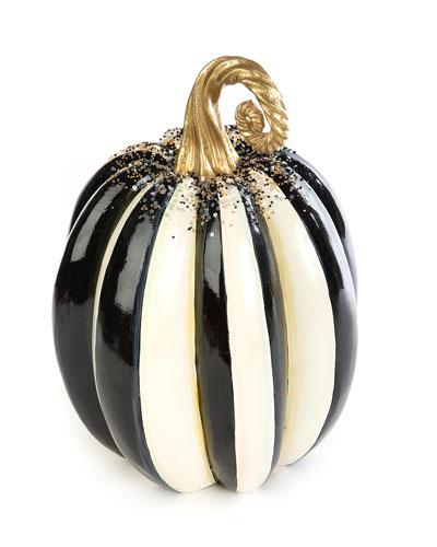 Beaded Stripe Medium Pumpkin
