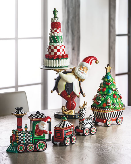 MacKenzie-Childs NM Christmas Tier Cake Decor