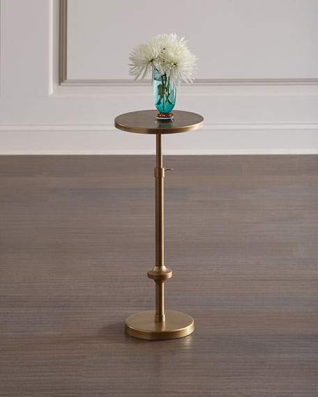 Everly Adjustable Height Drink Table