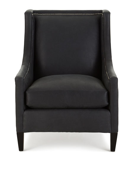 Bernhardt Mindy Leather Chair