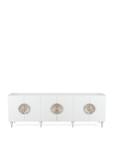 John-Richard Collection Triesse 6-Door Credenza