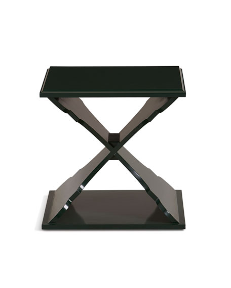 Hooker Furniture Cross Base Accent Table