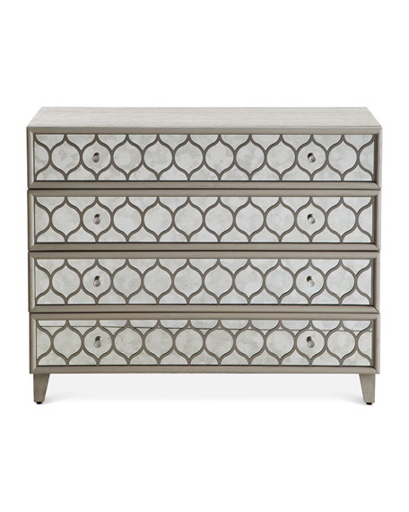Hooker Furniture Melody Mirrored Bachelor's Chest