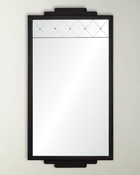 Mirror Image Dark Mahogany Mirror