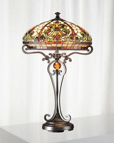 Boehme Tiffany Table Lamp