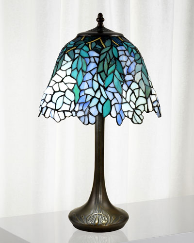Pelle Tiffany Table Lamp
