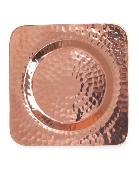 Sertodo Copper Napa Square Wine Bottle Coaster