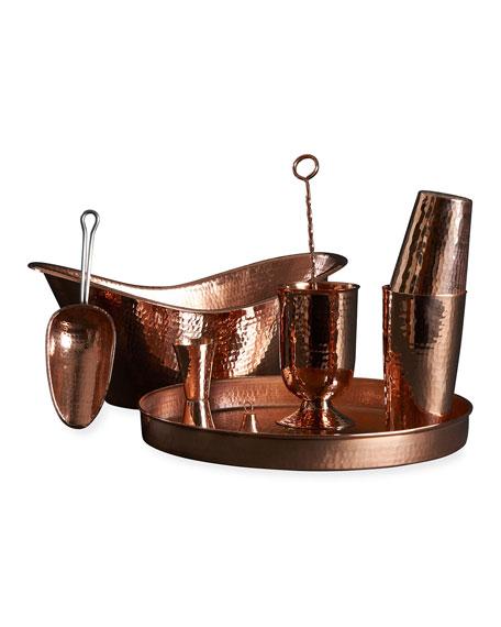 Sertodo Copper Deluxe Home Bar Set