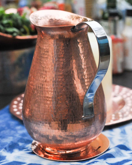 Sertodo Copper Bisotun Water Pitcher