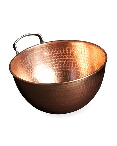 """Sertodo Copper Copper Mixing Bowl, 10"""""""