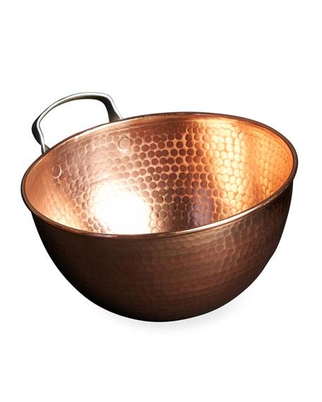 """Sertodo Copper Copper Mixing Bowl, 8"""""""