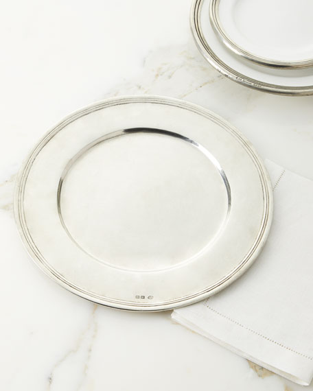 Neiman Marcus Pewter Charger