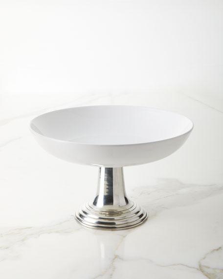 Neiman Marcus Ceramic Pewter Bowl