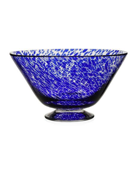 "William Yeoward Vanessa Blue Bowl, 10"""