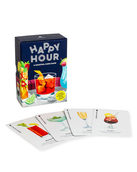 Image 2 of 3: Chronicle Books Happy Hour Cocktail Card Game