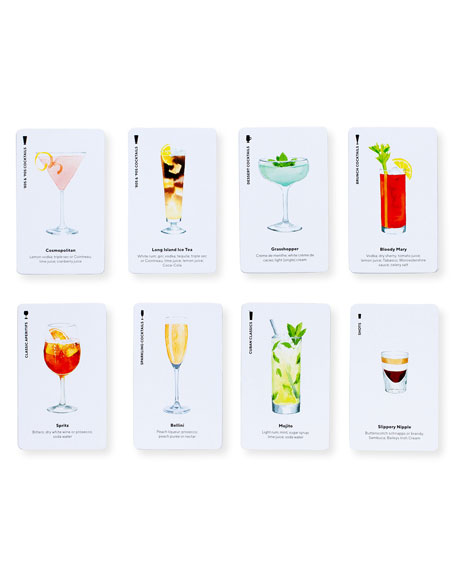 Image 3 of 3: Chronicle Books Happy Hour Cocktail Card Game