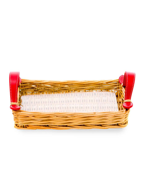 Amanda Lindroth Small Island Tray, Red