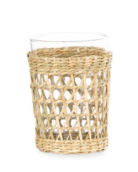 Amanda Lindroth Natural Seagrass Juice Cup
