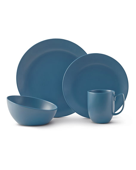 Nambe 4-Piece Place Setting, Aurora Blue