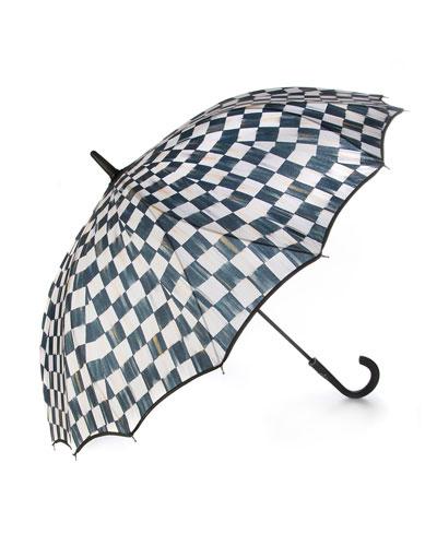 Courtly Check Seamless Umbrella