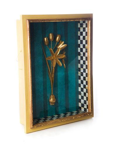Moonlight Garden Narcissus Shadow Box