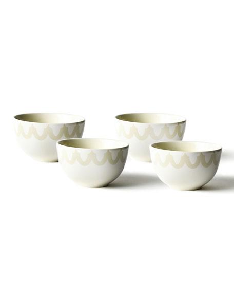 Coton Colors Arabesque Trim Small Bowl