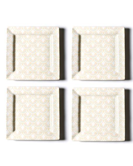 Coton Colors Layered Arabesque Square Platter