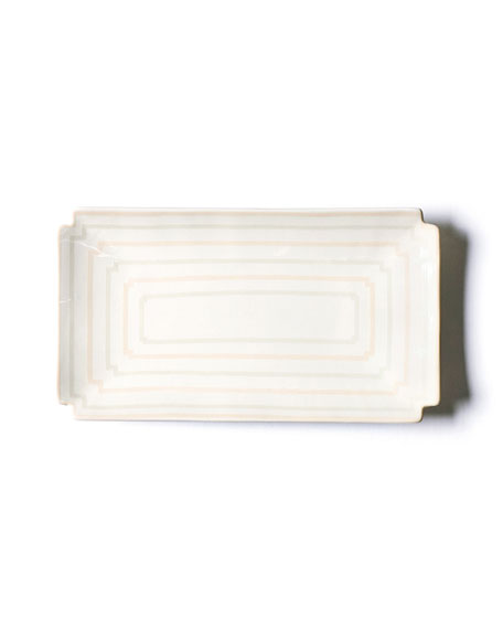 Coton Colors Rectangle Notch Tray