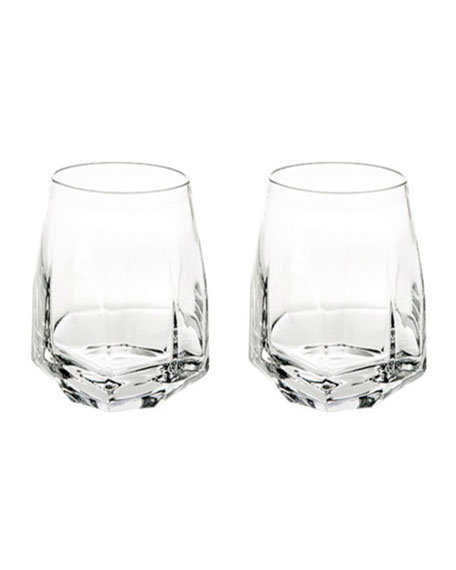 Vista Alegre Gemstone Double Old-Fashioned Glasses, Set of 2
